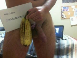 hung like a banana?? you tell me