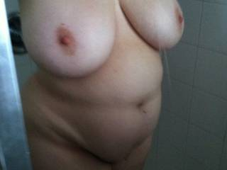 My hot wife in the shower