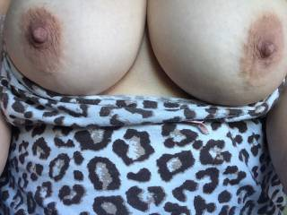 Well, damn, yes, who wouldn't want to receive a sexy message like that; such a perfect pair of tits!