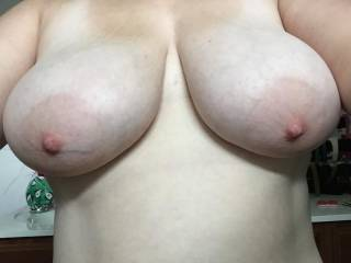 joy is wathing your magnificent tits jiggle, wiggle and bounce with every thrust.