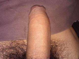 Very nice big thick uncut cock.