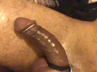 I love wearing cock rings all the time and especially fucking with them on.