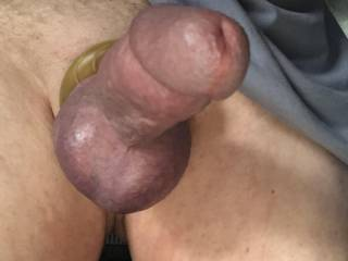 Donut cock ring.