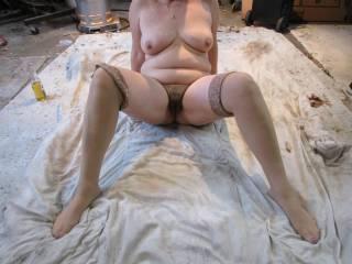 sexy garage shot