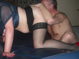 My first threesome with a German couple