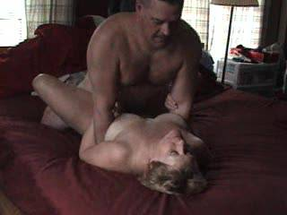 Fucking wife on bed