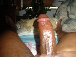 I would like to try taking that Cock all the way! In my pussy because I couldnt deep throat that big thing.