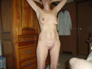 marvelous, beautiful, sexy naed you are and i'd love to enjoy everything in view and more.  I'd sure love to eat your splendid pussy.