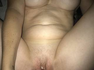 Warming myself up for my husbands big cock. Who wants to help me get dripping wet?