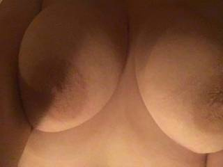 Who wants to fuck wife\'s beautiful tits?