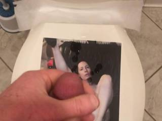 For anitaheels, You are such a naughty little slut! Your filthy talk and spread cunt made me spew a huge massive load.