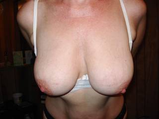 They're fantastic and I'd love to suck them and cum on them after I fuck them!!!  Hm-m-m-m-m-m!!!!