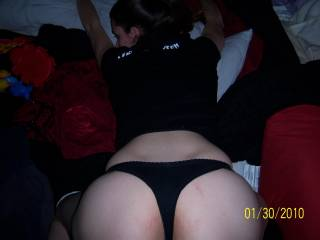 just thought I would bend over...