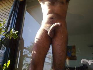 Fantastic pic...great cock...really erotic dripping from your engorged penis...