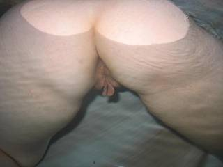 I would love to suck on those long pussy lips, and then work my way up to your ass!