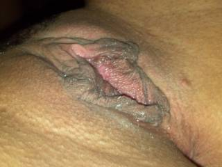 Nice photos of your pussy lips. Thanks. Do you pull them and stretch them? That would be nice to see!