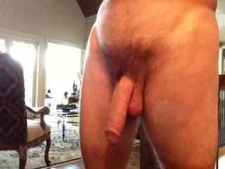 i love the way your big cock hangs there  would look hot shaved smooth