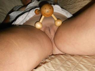 I could use a better woody to give me a pussy massage, what do yo think?