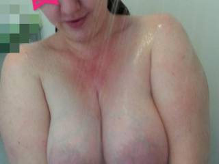 yes your milk filled breasts are soooooo hot and sexy...would love to suck your milk