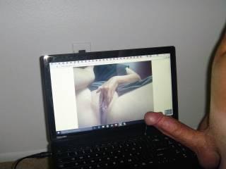 I need to slide it in your tight pussy before this precum hits the keyboard. mmmmmmmmmmmmmmm. You make me so hard.