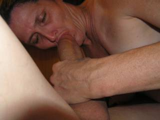 Getting my COCK sucked. She is sooooo good at it. My COCK gets so fucking hard when its being sucked. When i squeeze the base the head swells and then SHE ORGASMS. Any ladies want to have an Orgasm sucking my COCK?