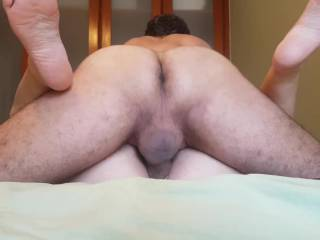 her meaty pussy creaming my hard cock... Fucking hard and deep to satisfy her horny pussy...Would anyone like to lick her clean?