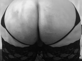 Bent over and waiting for her spanking. pet won't be caught looking at porn without me agin