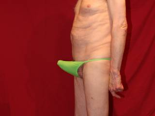 Once erect of course my cock really does seem to stand out in these undies.