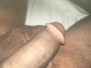 Cock and balls. Any lady want to lick?