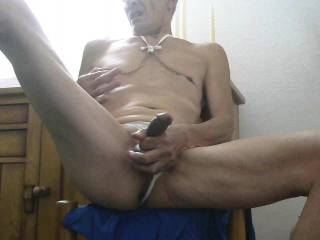 Legs on your shoulders hard and deep in my twat stroking my clit pinching my nipples make me scream what else ...