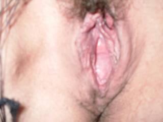 VERY juicy!!  Love to tongue deep inside her juicy pussy and taste her!!