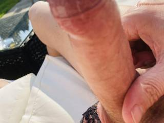 Having some fun in the sun hope my sexy neighbour is watching x
