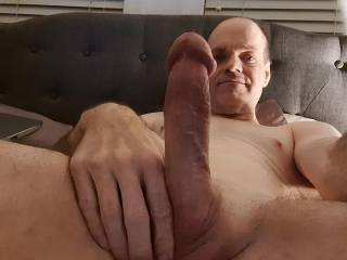 Hard cock ready for action
