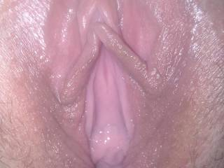 Can't get much more of a close up!! And spreading too.........