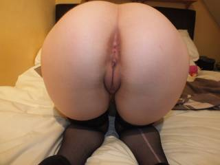 WOW!!!!!!!!! This is the best ass and pussy pic on here!! So wanna bury my face and cock in there!! - just got to stroke my cock over your fab ass and pussy!!