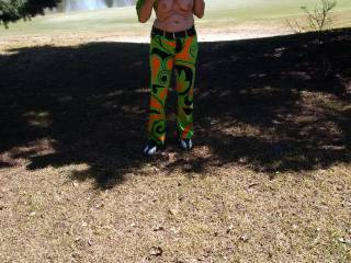"""Hot round tits for a round of golf.  Even though I have never played golf, like the chance to try for a """"hole in one"""" if you get my drift."""