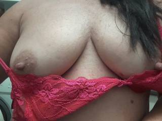 Mmmm! I would enjoy slowly taking off your bra as soon as you got home and kissing every inch of your amazing tits and sucking on your delicious nipples!