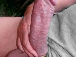Good Morning to all at Zoig! I\'m very horny this morning so I took a few shots of my stiff German Cock. I hope this one will fill your screen!