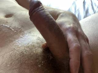 Mmmm that was good. Who wants to lick me clean?