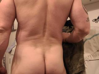 Showing my butt