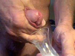 being one in a million guys who truly like what you are doing, imagine my wife holding the glass, me laying underneath watching you pump your load in the glass, and when I am jacking off, my wife pours the cum in my open mouth, and the first taste of your semen, I also ejaculate like a volcano eruption. yea, one in a million who will say it, and one in ten million who would actually do it