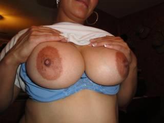 big brown nipples