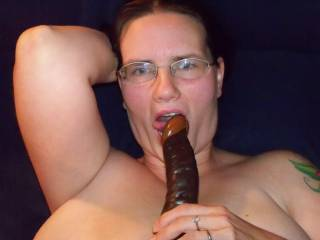 don't you wish this was your big, hard, sexy chocolate cock?