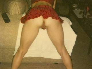 I like it that way too. nice legs, ass and pussy.