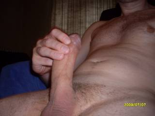 I bet you would prefer having my mouth sucking your cock.