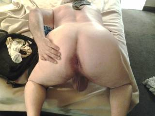 Mmm love to lick your sexy ass hole then slide my cock up your sexy hole.