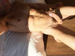 Oh fuck!! I don't need to buckle up....I'll ride it good and I won't fall off...not until I make that delicious cock cum.  Mmmm, that is a sexy picture and gorgeous cock.  MILF K
