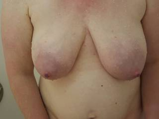 Who wants to nurse on these heavy milk filled tits?