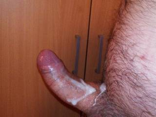 Well this photo was taken after jerking off, I also have a video of that cum coming out and sliding all over my dick, if you want to see it leave me a comment :)