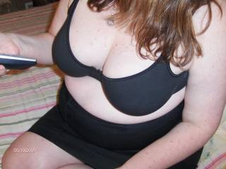 want to take my hands and cup your bra and breasts very sexy bra